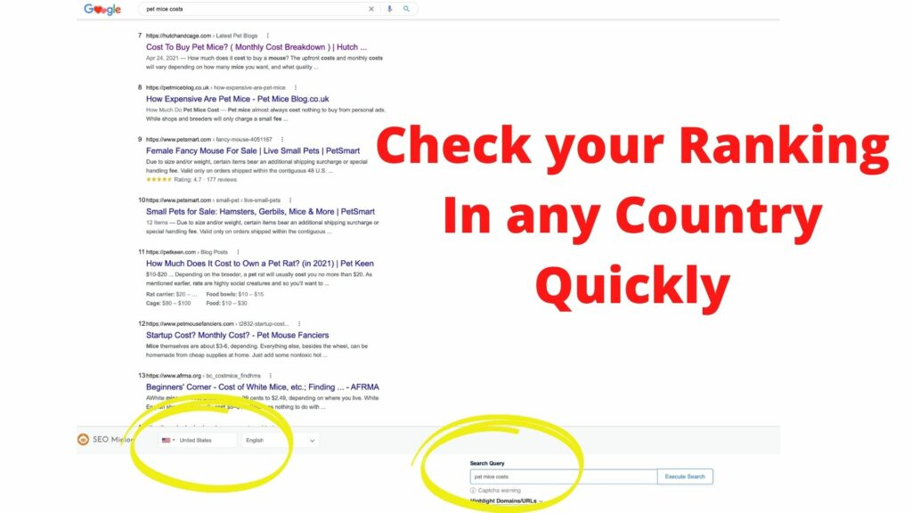 check serps rankings quickly