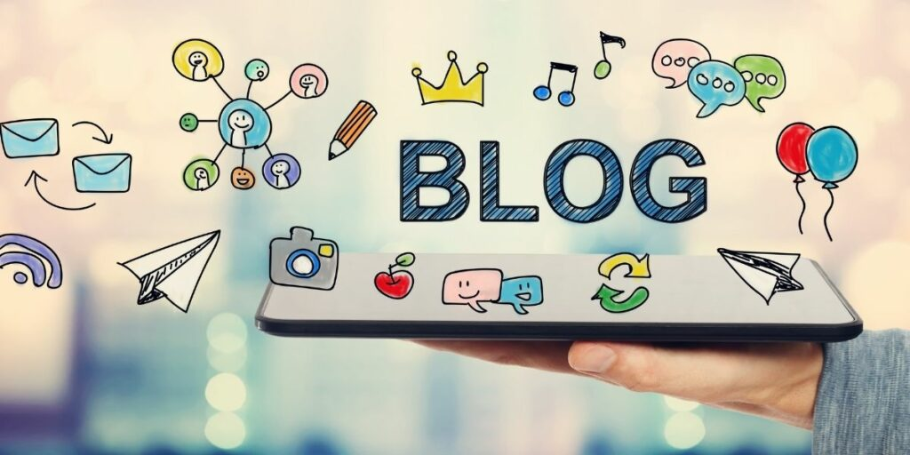 blog about yourself