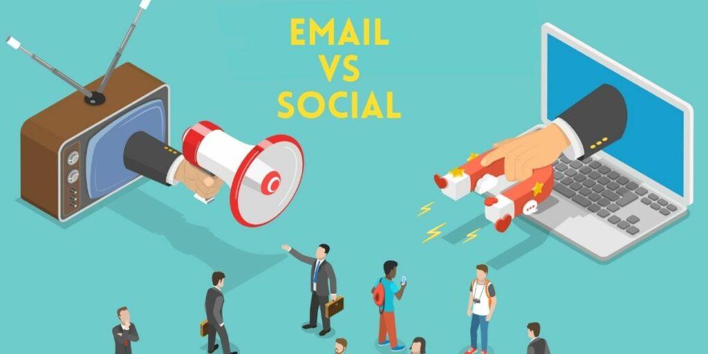 email marketing vs social