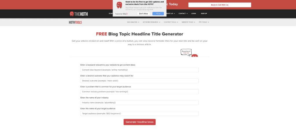 title tag generator