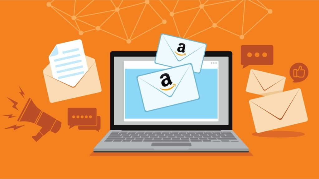 emails with amazon links