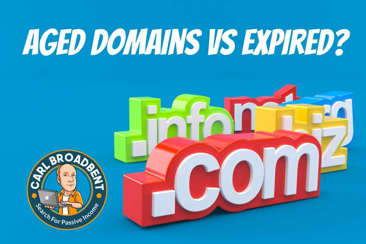 aged domains vs expired