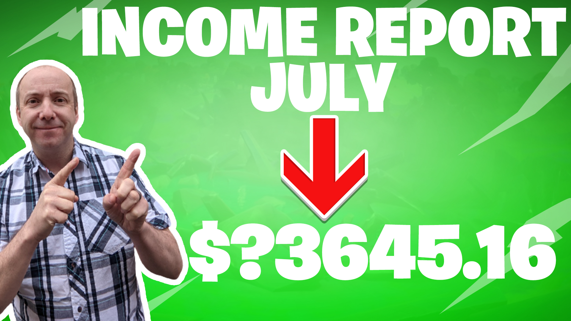 blogging income report july 2021