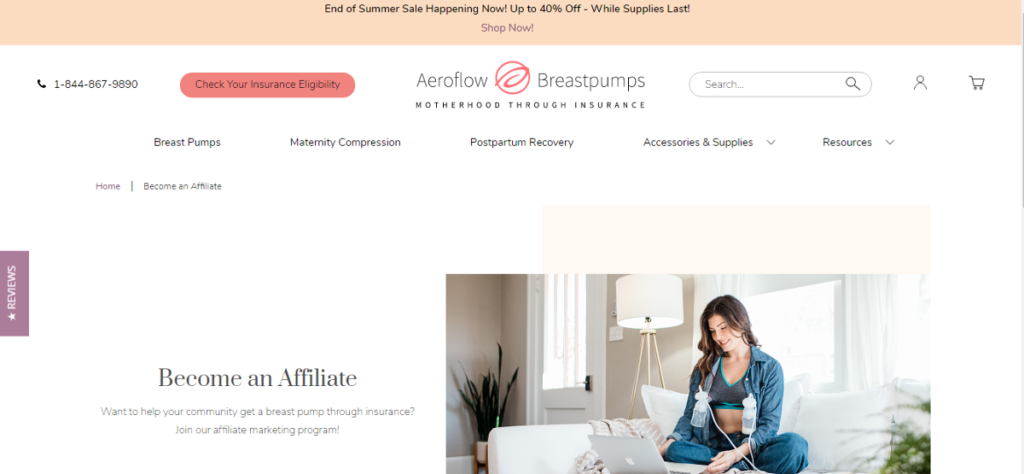 Best affiliate program for baby products