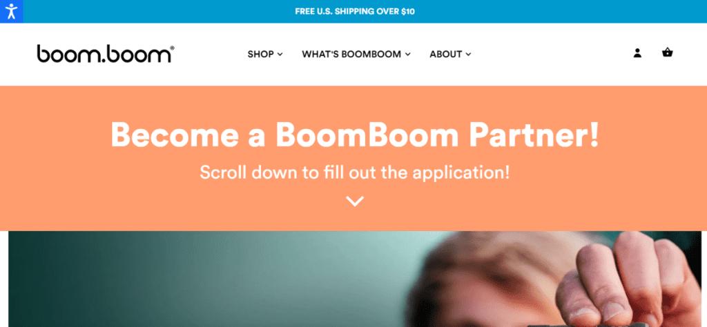 Boom Boom Naturals AFFILIATE PROGRAM