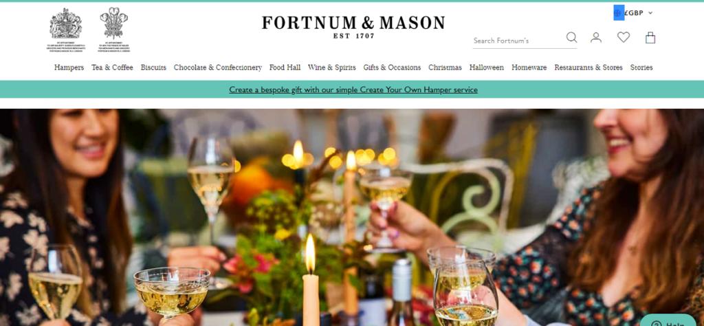Fortnum and Mason Affiliate Program