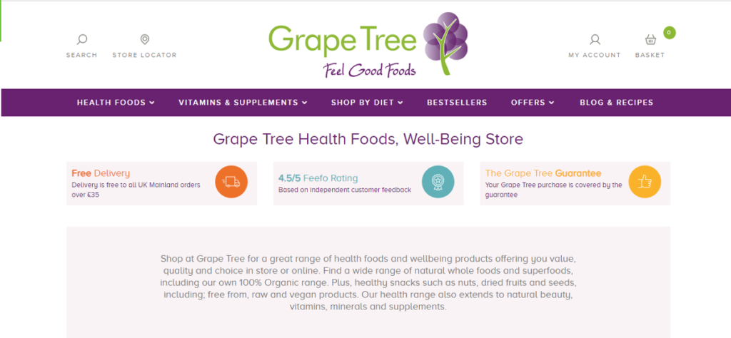 Grape tree affiliate program