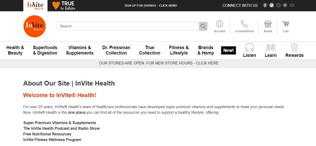 Invite Health affiliate program