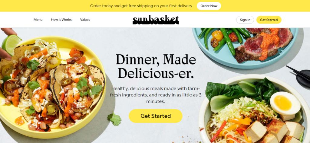 Sunbasket Affiliate Program