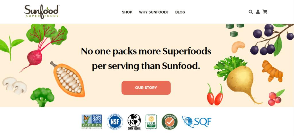 Sunfood Affiliate Program