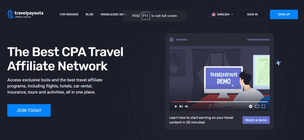 Travelpayouts affiliate program