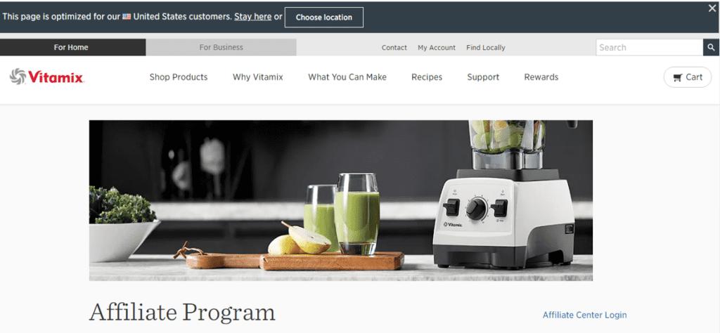 Vitamix Affiliate Program